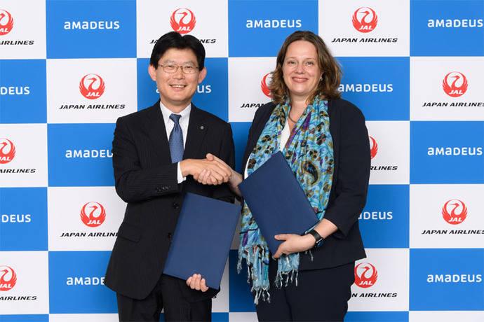 Japan Airlines y Amadeus amplían su alianza