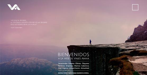 Viajes Amaia presenta su nueva página en Internet