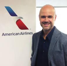 El director comercial de American Airlines, José Blázquez.