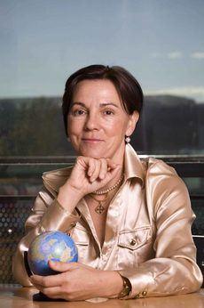 La presidenta de Miembros Afiliados de la OMT, Ana Larrañaga.