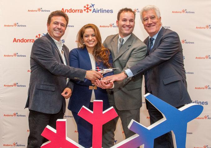 Andorra Airlines operará 500 vuelos en su primer año
