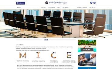 Andrómeda presenta una nueva 'web' más visual