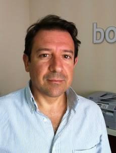 El director de Bookingfax, Antonio Mariscal.