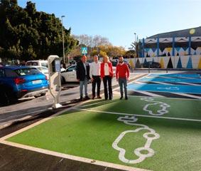 Nuevo aparcamiento junto al Palacio de Congresos de Marbella