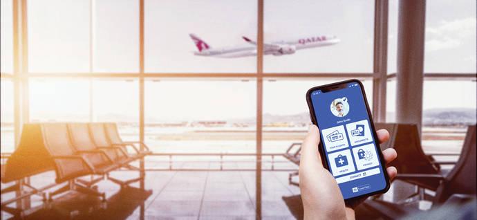 Qatar Airways, pionera en IATA Travel Pass Covid-19