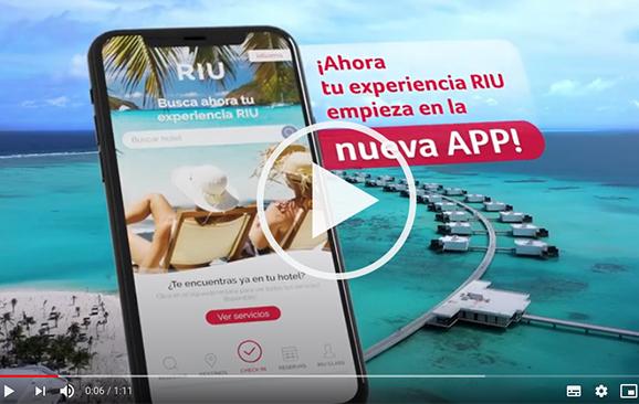 Riu Hotels & Resorts presenta su nueva app