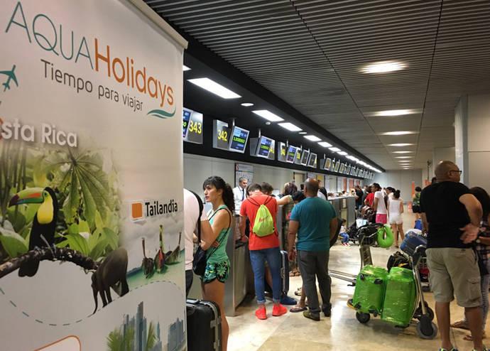 Aquaholidays y Plus Ultra operan su primer vuelo a Cuba