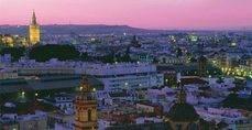 Vista de la ciudad de Sevilla.