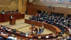 Imagen de archivo de una sesión de la Asamblea de Madrid.