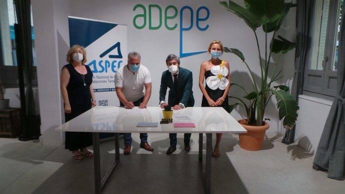 Aspec y Adepe firman un convenio de colaboración