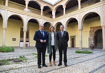El presidente de ATA destaca el Palacio de Córdoba