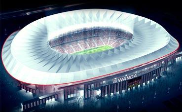 Nueva sede para eventos en el Wanda Metropolitano