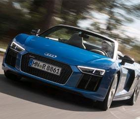 Lloret de Mar acoge la presentación de un vehículo de Audi