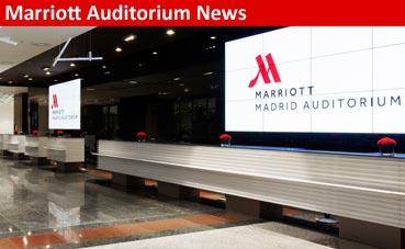 El MICE juega a ganar en Madrid Marriott Auditorium