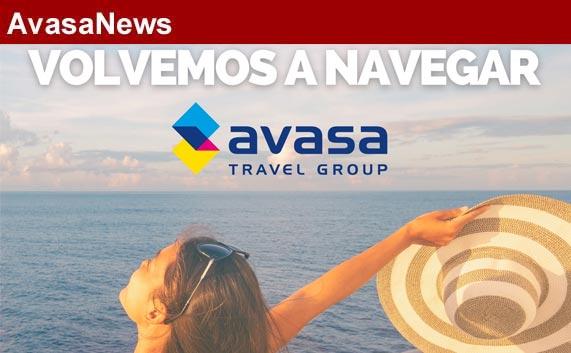 'Volvemos a navegar', nueva campaña de cruceros de Avasa