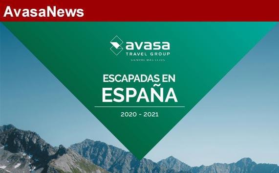 Avasa lanza un catálogo virtual de viajes por España