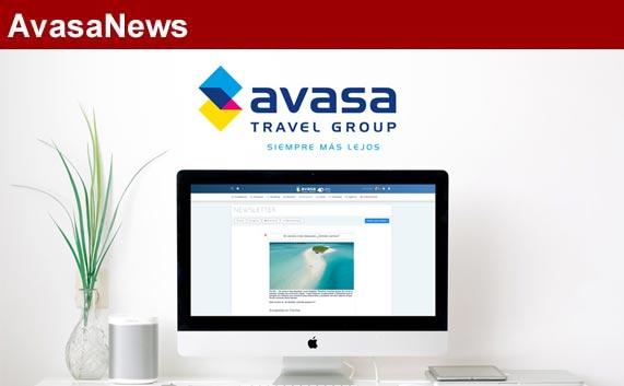 Avasa fomenta la reactivación de los viajes con newsletters