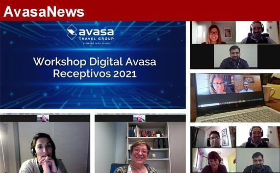 Avasa presenta su 6º Workshop de Receptivos