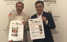 El vicepresidente del Gobierno balear, Biel Barceló, y el presidente de AVIBA.