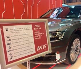 Avis España incorpora el Audi A8 a su flota Premium