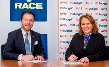 Los clientes de Avis tendrán mayor cobertura con RACE