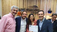 Azul Marino Viajes inaugura su 'flagship store' de Barcelona