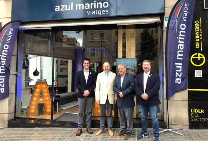 Azul Marino Viajes refuerza su posición en Cataluña