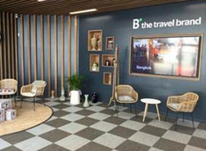 B the travel brand habilita el sistema Amazon Pay