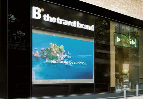 B the travel brand ofrecerá servicio de cambio de moneda