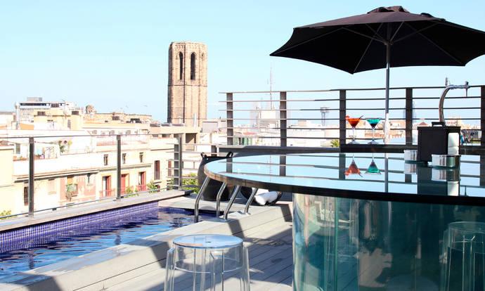 El Hotel Bagués, un rincón desde donde ver Barcelona
