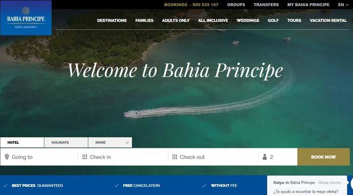 Bahía Príncipe venderá 'paquetes' gracias a Expedia