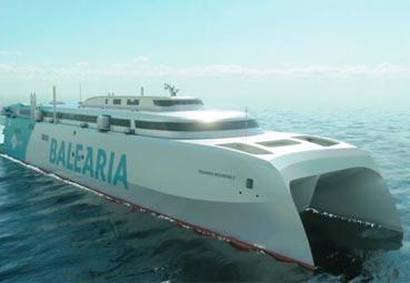 Baleària ultima el lanzamiento de su 'fast ferry'