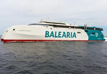 Baleària estrenará nuevo barco en el mes de mayo