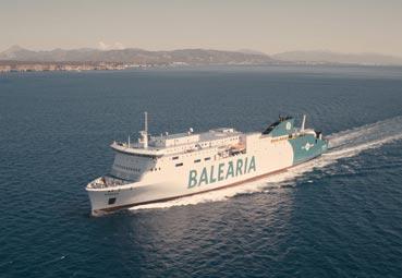Baleària refuerza la conectividad con Melilla