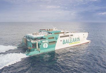 Baleària reanuda rutas entre Estados Unidos y Bahamas