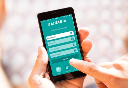 Baleària estrena nueva aplicación para móviles