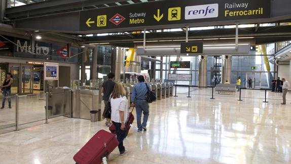 Iberia ve más voluntad política de llevar la alta velocidad al aeropuerto de Barajas