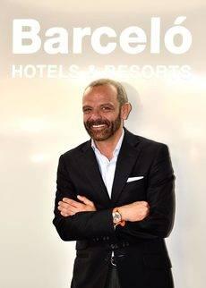 El director comercial para la Península de Barceló Hotel Group, Txema Xutglà.