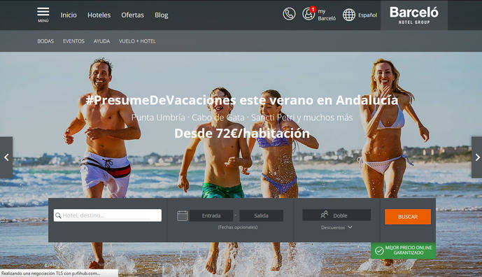 Barceló Hotel Group venderá 'paquetes' dinámicos de la mano de Expedia