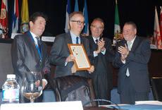 Simón Pedro Barceló y Simón Barceló han sido investidos Próceres del Turismo Español en Iberoamérica.