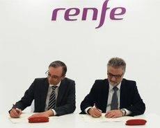 La firma del acuerdo de colaboración.