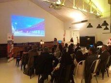 La presentación de El Batel en Madrid.