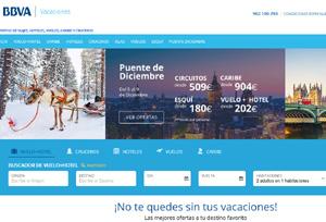 BBVA lanza su propio 'portal' de viajes mediante una alianza con B the travel brand