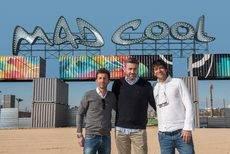 Javi Tomás, CEO de Producciones Komodo; Javier Longarte, Country Manager de BCD M&E Spain; y Farruco Castromán, codirector del festival.