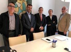 Jorge Marcos, Hugo González, Juan Carlos González, José Bonet y Jaime Córdoba.