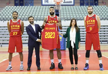 BCD Sports y Halcón firman acuerdo con UCAM Murcia