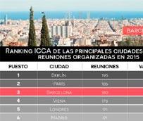 Barcelona destaca su tercera posición en el Ranking ICCA