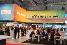La estand de Barcelona en IBTM World.