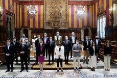 La reunión del patronato de Mobile World Capital Barcelona.