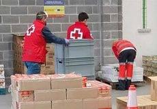 Cruz Roja Bizkaia cierra el centro logístico del BEC